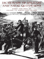 The Dictionary of Military and Naval Quotations