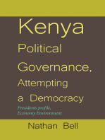 Kenya Political Governance, Attempting a Democracy