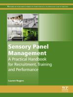 Sensory Panel Management