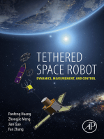 Tethered Space Robot: Dynamics, Measurement, and Control