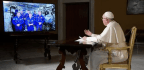 Pope Discusses Life's Biggest Questions With International Space Station Crew