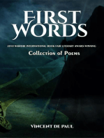 First Words (Collection of Poems)