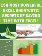 150 Most Poweful Excel Shortcuts