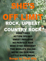 She's Off Limit, Rock, Country Rock & Upbeat