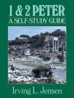First & Second Peter- Jensen Bible Self Study Guide