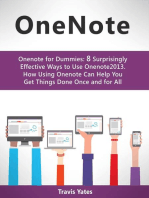 Onenote:Onenote for Dummies