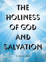 The Holiness of God and Salvation