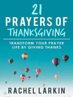 21 Prayers of Thanksgiving