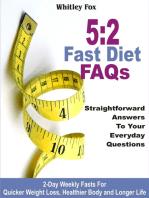 52 Fast Diet FAQs