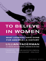 To Believe in Women