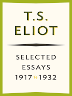 Selected Essays, 1917–1932