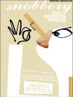Snobbery: The American Version