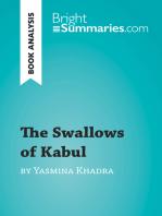 The Swallows of Kabul by Yasmina Khadra (Book Analysis)