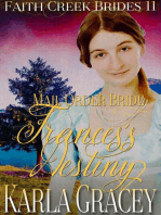 Mail Order Bride - Frances's Destiny