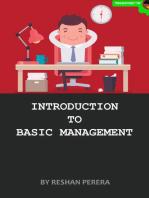 Introduction to Basic Management