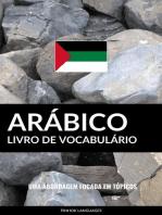 Livro de Vocabulário Arábico