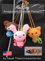 Mini Gang Amigurumi Crochet Pattern