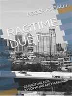 25 Ragtime for Xylophone and Marimba: Percussion Duet