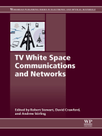 TV White Space Communications and Networks