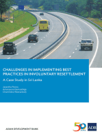 Challenges in Implementing Best Practices in Involuntary Resettlement