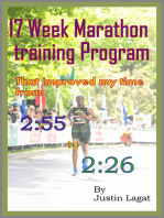 How I improved My Marathon Time from 2:55 to 2:26 in 17 Weeks