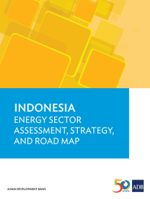 Indonesia: Energy Sector Assessment, Strategy, and Road Map