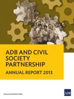 ADB and Civil Society Partnership