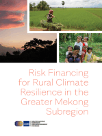 Risk Financing for Rural Climate Resilience in the Greater Mekong Subregion