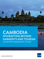 Cambodia: Diversifying Beyond Garments and Tourism