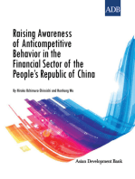 Raising Awareness of Anticompetitive Behavior in the Financial Sector of the People's Republic of China