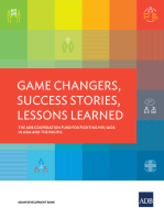 Game Changers, Success Stories, Lessons Learned