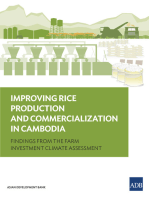 Improving Rice Production and Commercialization in Cambodia