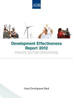 Development Effectiveness Report 2012