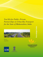 Tool Kit for Public–Private Partnerships in Urban Bus Transport for the State of Maharashtra, India