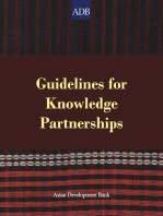 Guidelines for Knowledge Partnerships