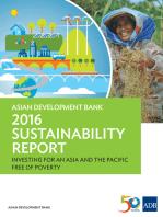 Asian Development Bank 2016 Sustainability Report