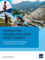 Navigating Gender-Inclusive Resettlement: The Experience of the Song Bung 4 Hydropower Project in Viet Nam