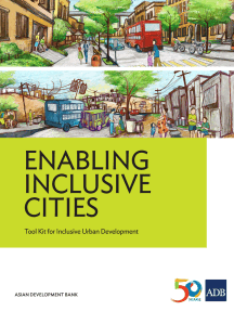 Enabling Inclusive Cities: Tool Kit for Inclusive Urban Development