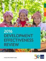 2016 Development Effectiveness Review