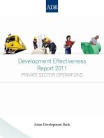 Development Effectiveness Report 2011