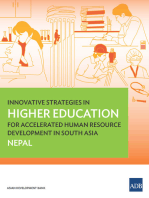 Innovative Strategies in Higher Education for Accelerated Human Resource Development in South Asia: Nepal