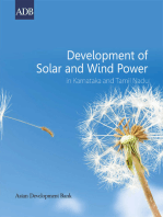 Development of Solar and Wind Power in Karnataka and Tamil Nadu