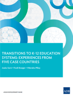 Transitions to K–12 Education Systems