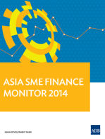 Asia Small and Medium-sized Enterprise (SME) Finance Monitor 2014