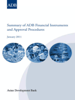 Summary of ADB Financial Instruments and Approval Procedures