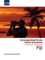Re-invigorating Private Sector Investment