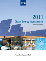 2011 Clean Energy Investments