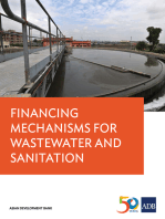 Financing Mechanisms for Wastewater and Sanitation Projects