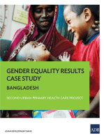 Gender Equality Results Case Study: Bangladesh—Second Urban Primary Health Care Project