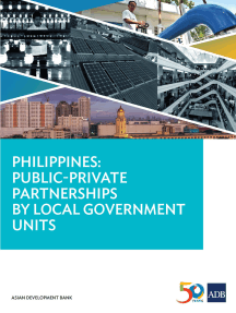 Philippines: Public-Private Partnerships by Local Government Units